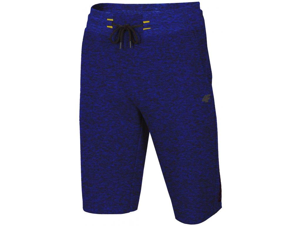 Pánské kraťasy 4F SKMD002 D.blue mel. modrá