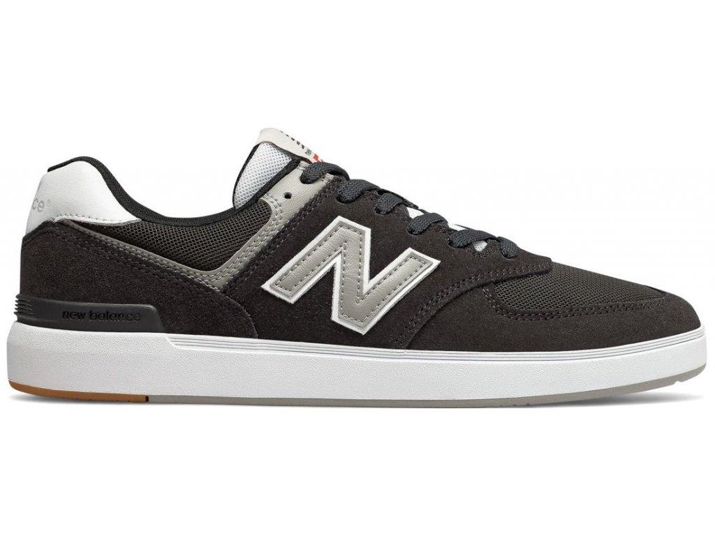 Pánská lifestylová obuv New Balance AM574 BKR černá
