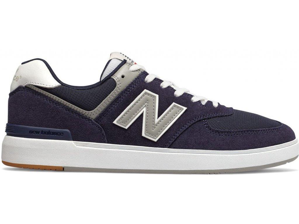 Pánská lifestylová obuv New Balance AM574 NYR modrá