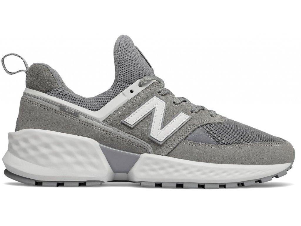 Pánská lifestylová obuv New Balance MS574 NSB šedá