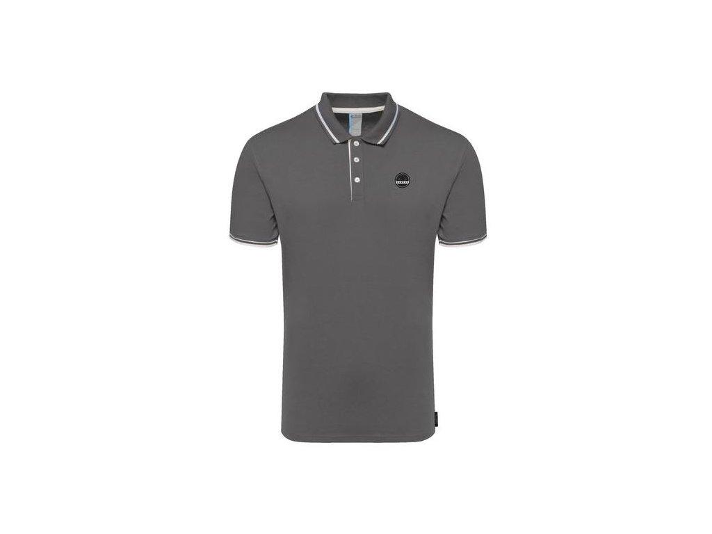 Pánské tričko Dare 2b Precedent Polo 65G šedá