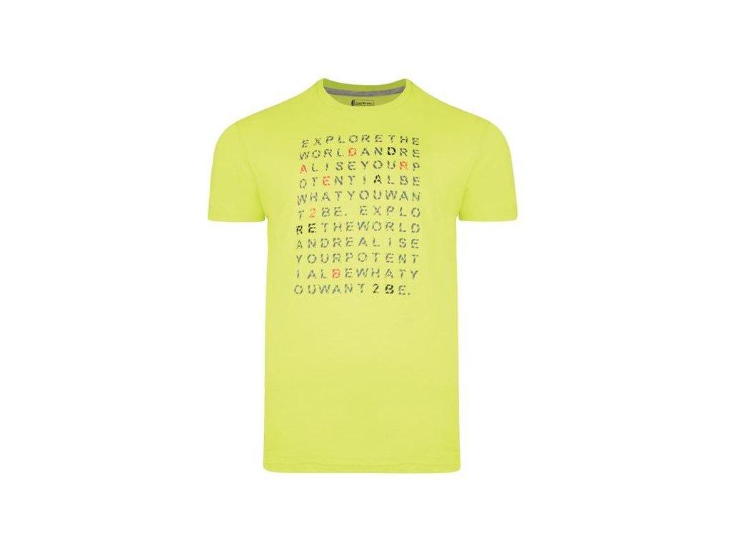 Pánské tričko Dare 2b Verses Tee 3N8 zelená