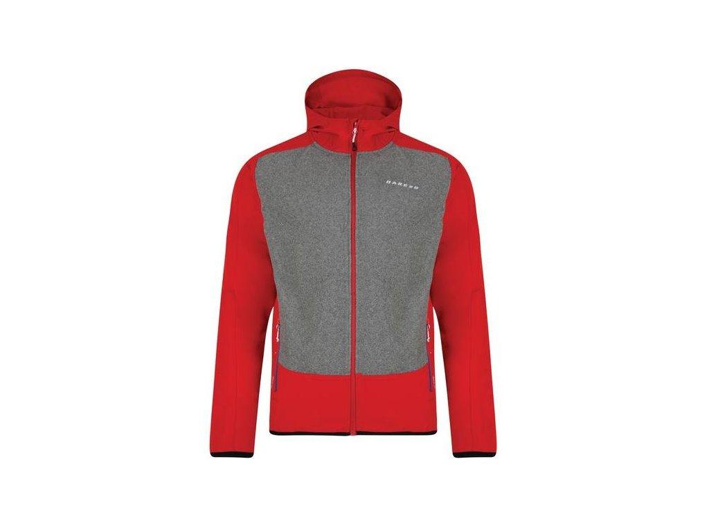 Pánská bunda Dare 2b Creed Softshell 4Y0 červená