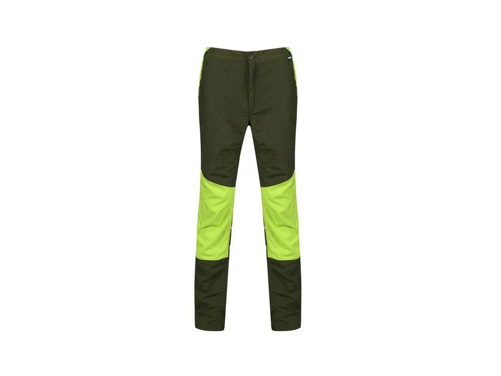 Pánské kalhoty Regatta Sungari 70Q zelená