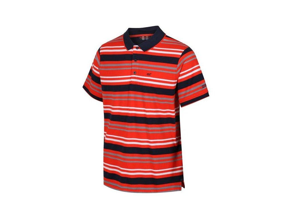 Pánské tričko Regatta Pieran 0EJ červená