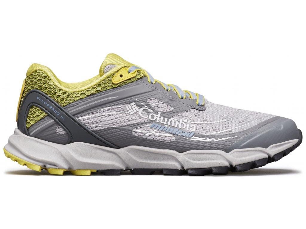 Dámské běžecké boty Columbia CALDORADO™ III 099 šedá
