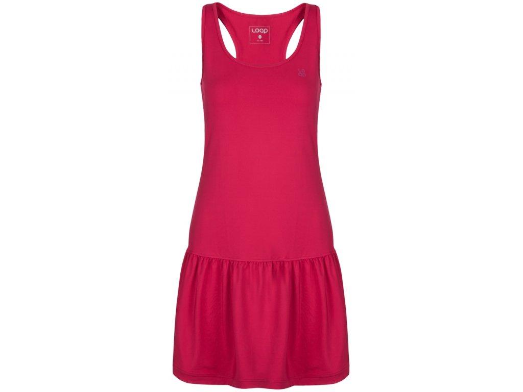 Dámské šaty Loap MERSIKA J48J růžová