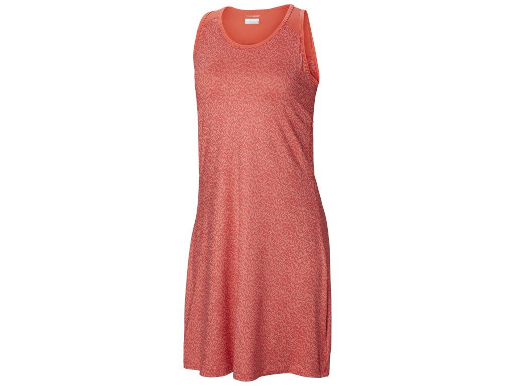 Dámské šaty Columbia Saturday Trail™ III Dress 633 oranžová