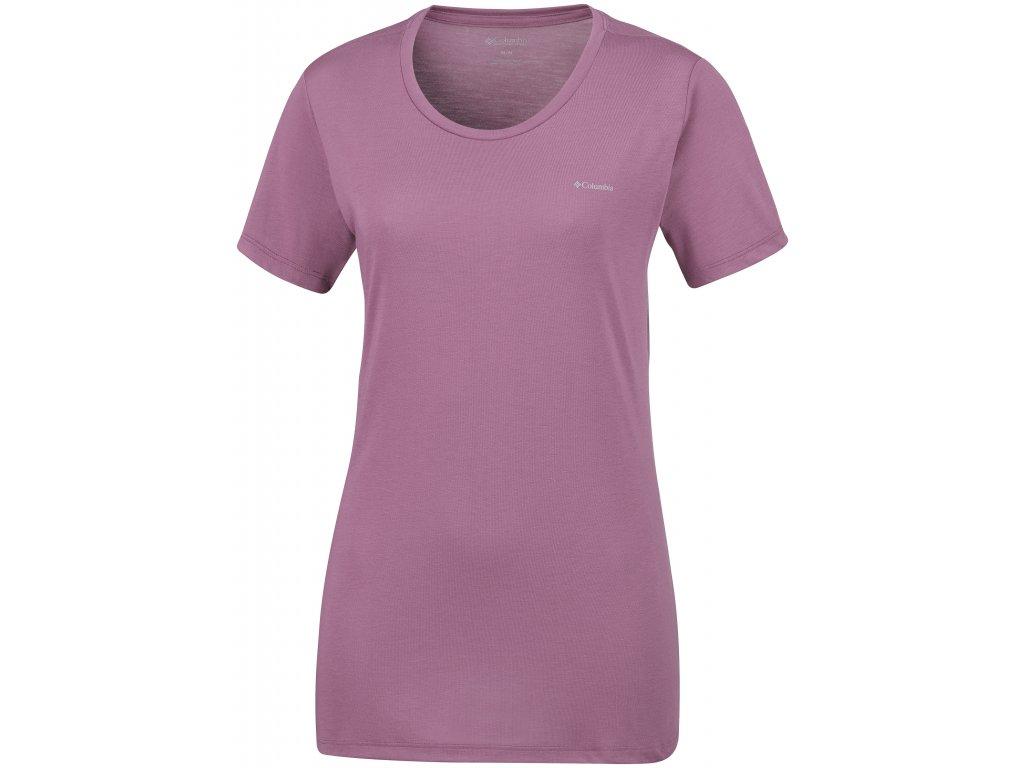 Dámské tričko Columbia Lava Lake™ SS Tee 551 fialová