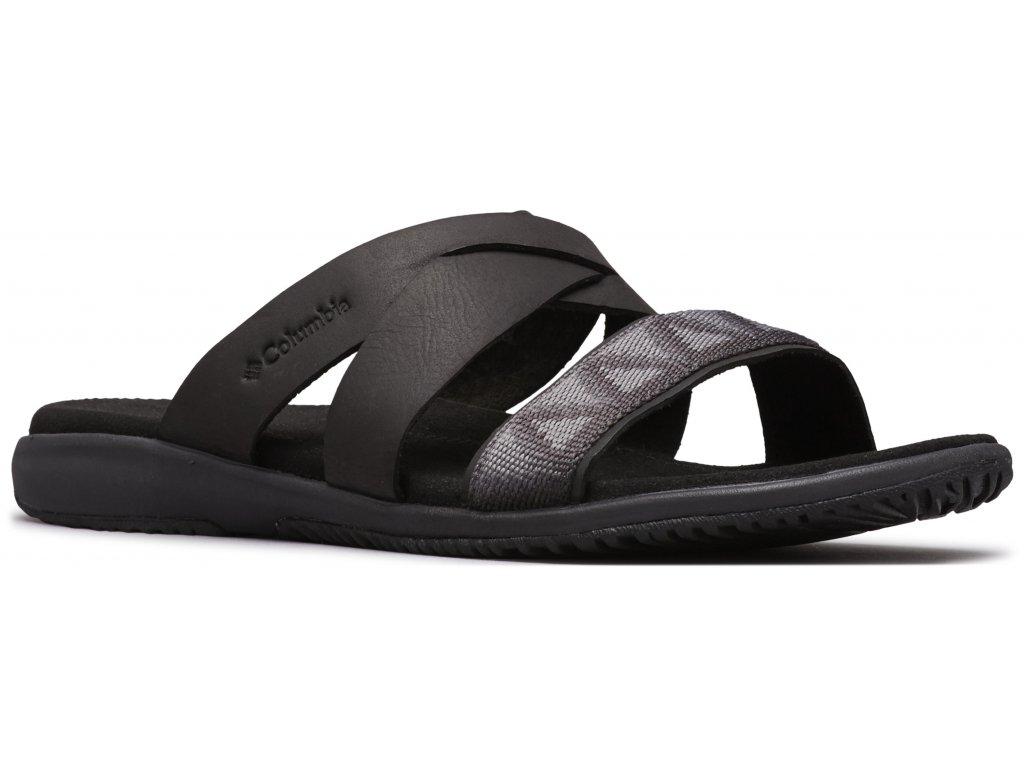 Dámské pantofle Columbia SOLANA™ SLIDE 010 černá