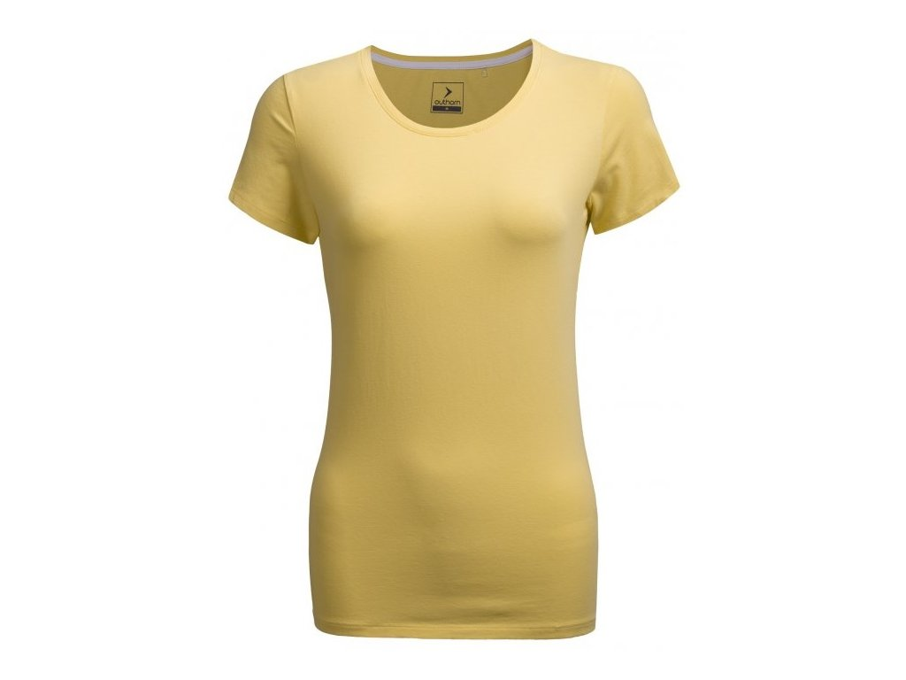 Dámské tričko Outhorn TSD600 . lemon žlutá