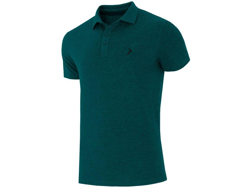 Pánské tričko Outhorn TSM622A Teal mel. zelená