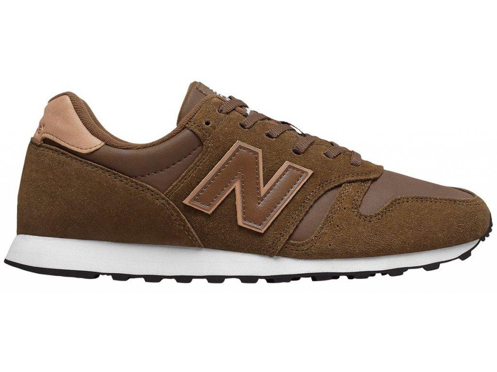 Pánská lifestylová obuv New Balance ML373 MRV hnědá
