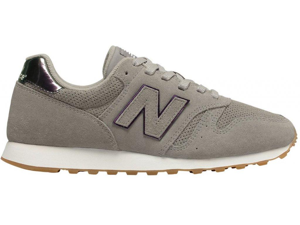 Dámská lifestylová obuv New Balance WL373 WNF šedá