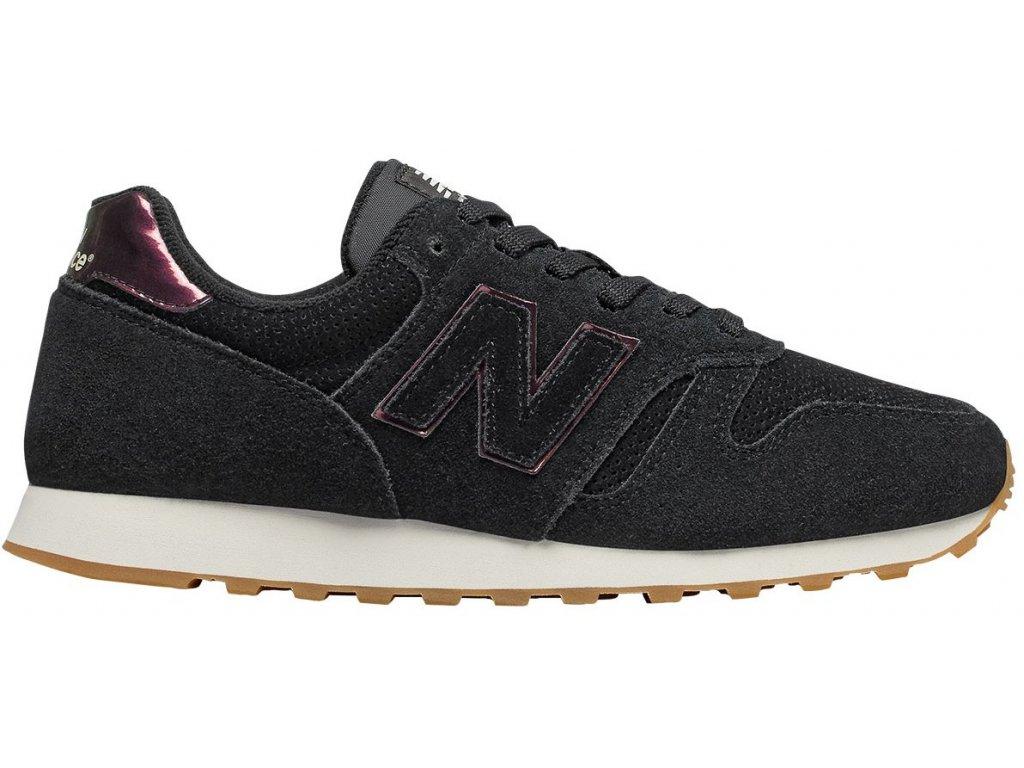 Dámská lifestylová obuv New Balance WL373 WNI černá