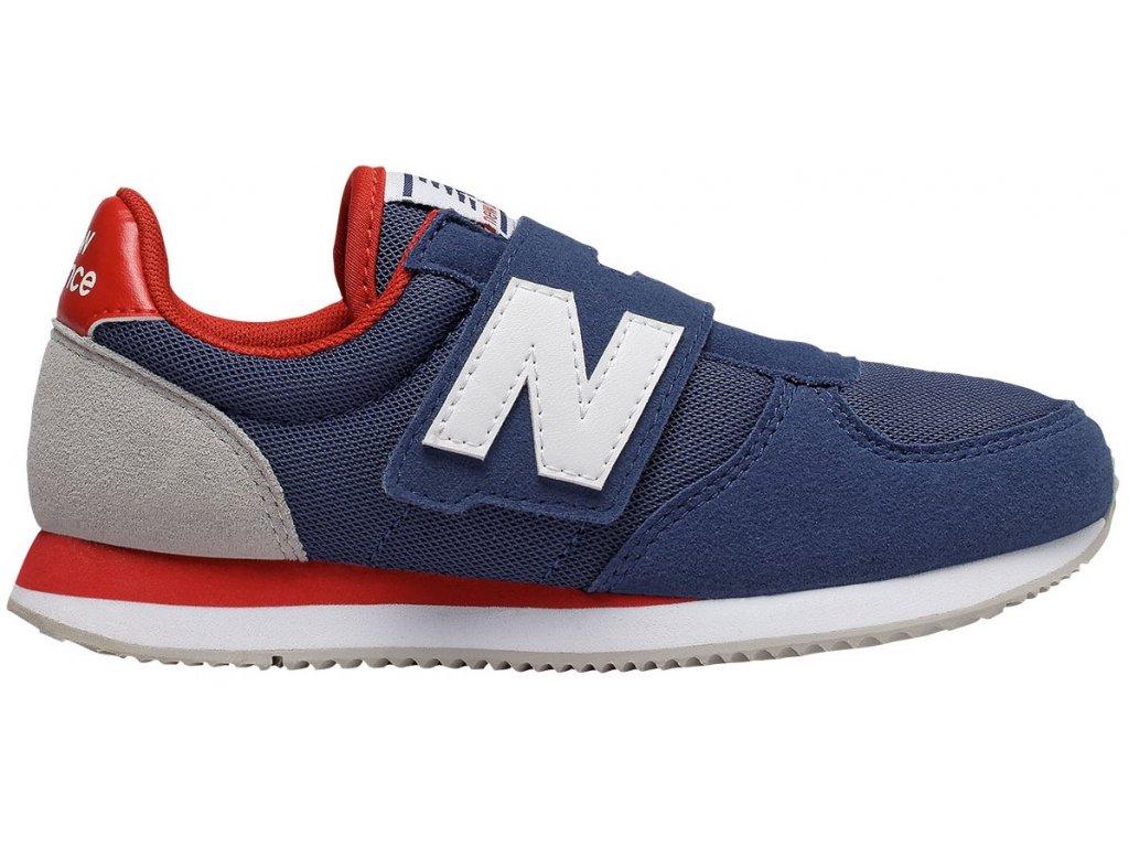 Dětská lifestylová obuv New Balance PV220 NVR modrá