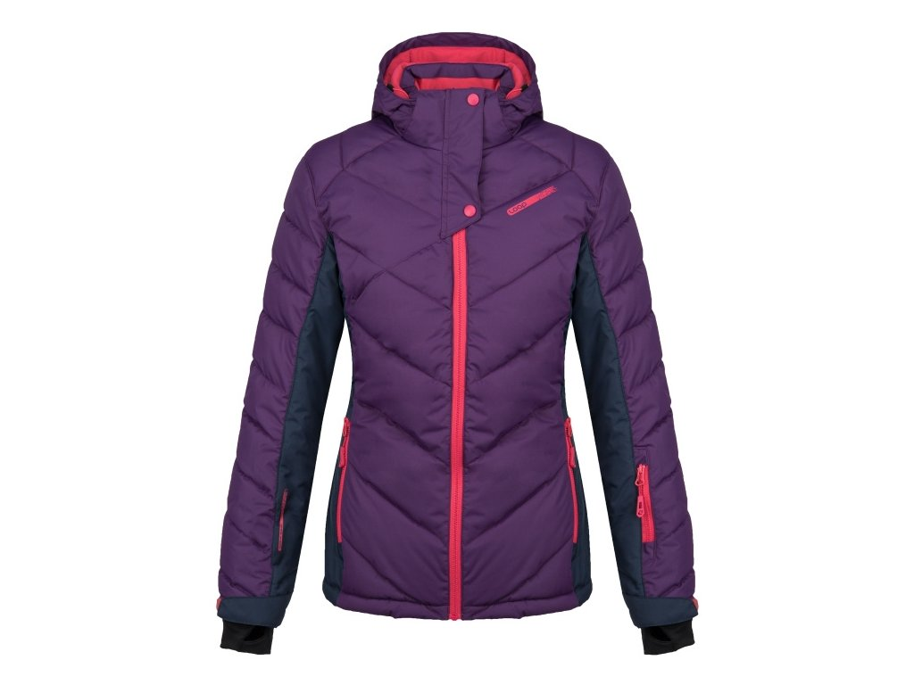 Dámská lyžařská bunda Loap ODETTE K37L fialová