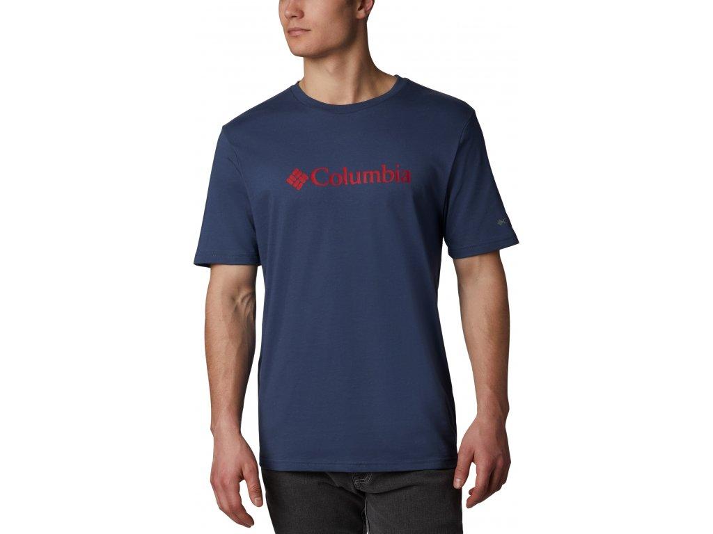 Pánské tričko Columbia CSC Basic Logo™ Short Sleeve 479 modrá