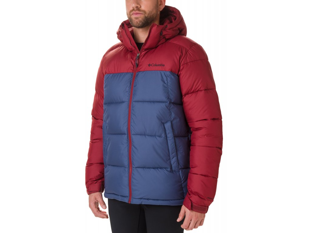 Pánská bunda Columbia Pike Lake™ Hooded Jacket 479 červená