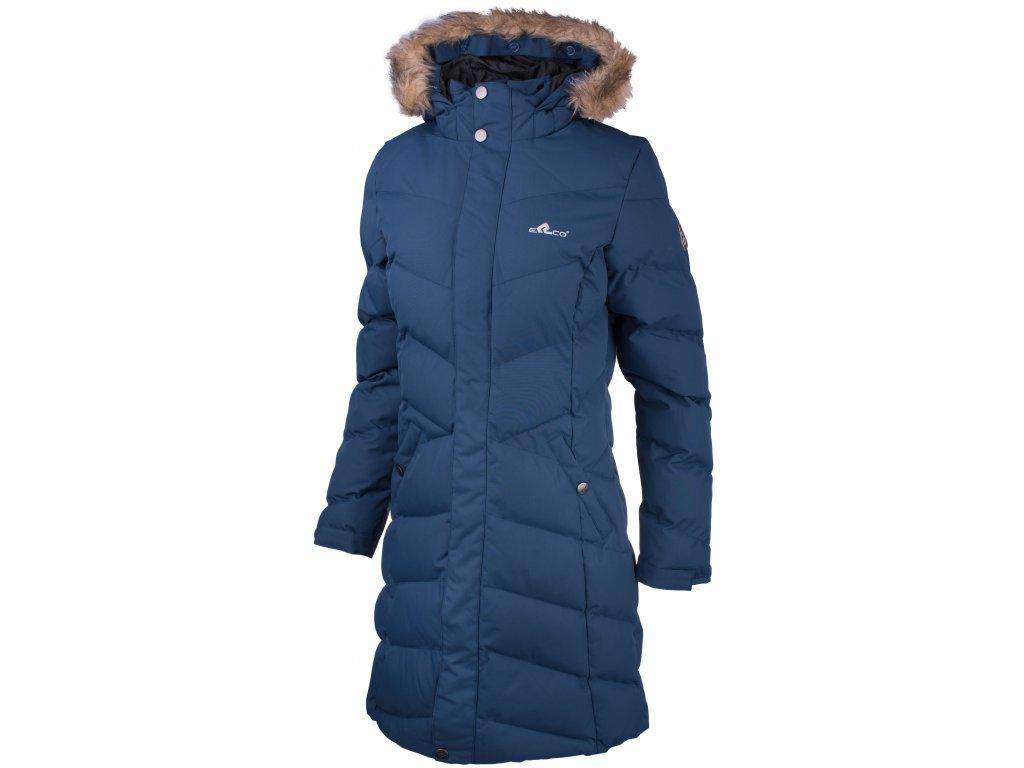 Dámský kabát ERCO RACHEL BLU modrá