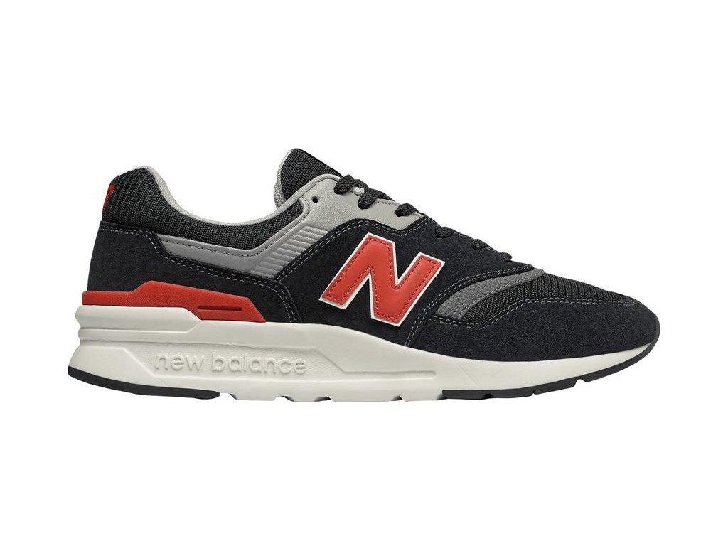 Pánská lifestylová obuv New Balance CM997 HDK černá