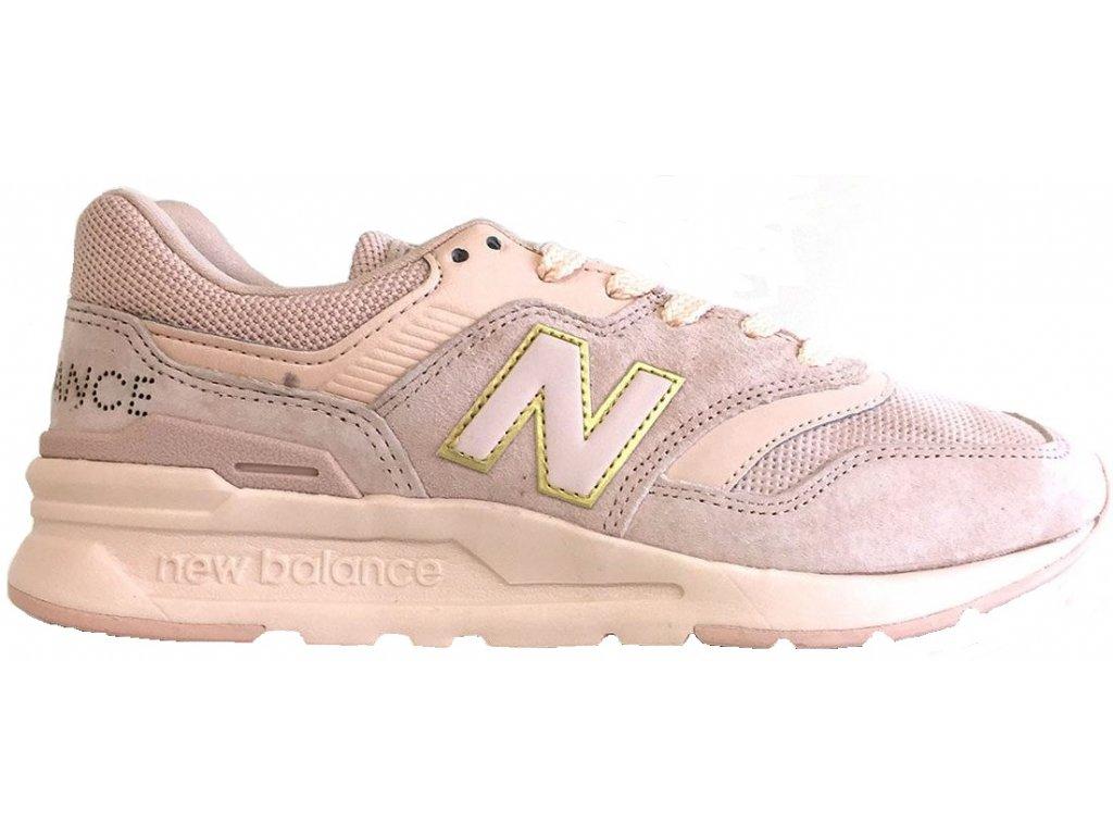 Dámská lifestylová obuv New Balance CW997 HCD růžová