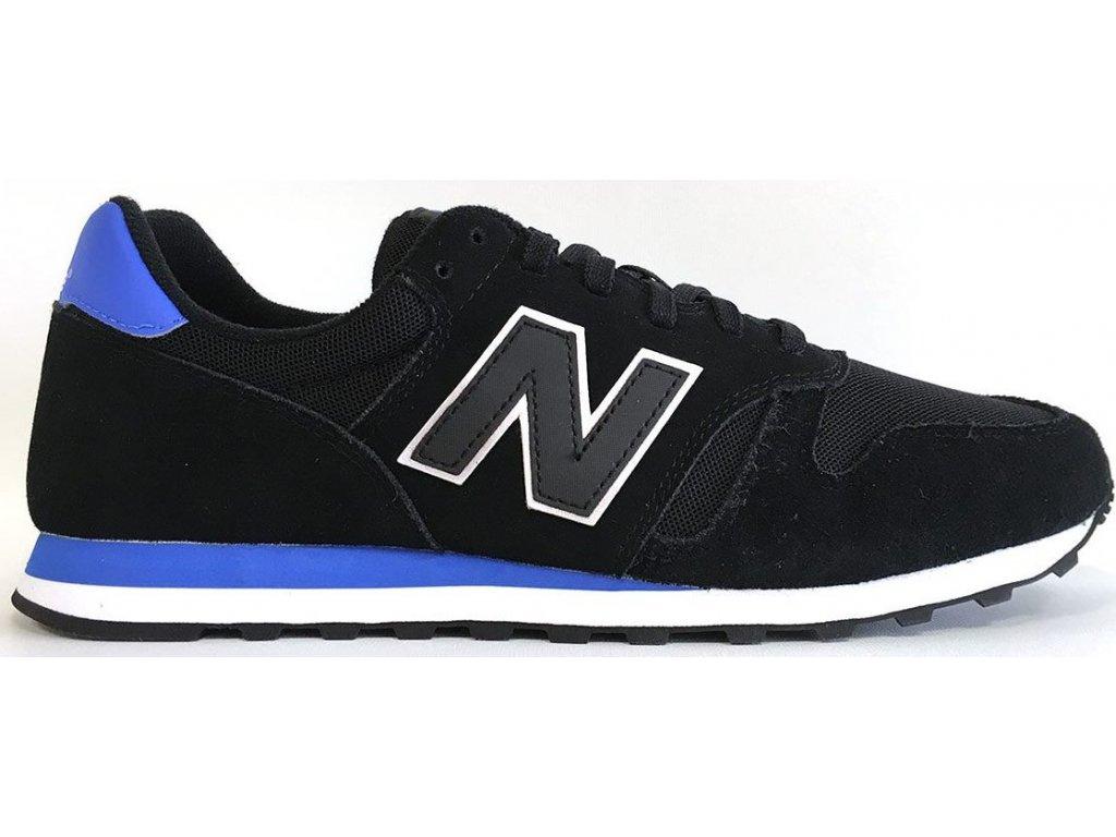 Pánská lifestylová obuv New Balance ML373 MST černá