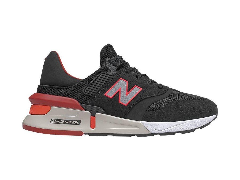 Pánská lifestylová obuv New Balance MS997 RD černá