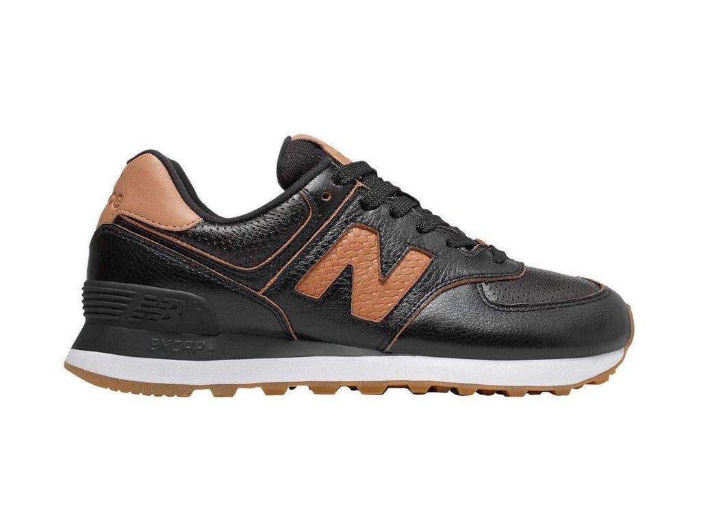 Dámská lifestylová obuv New Balance WL574 WNH černá