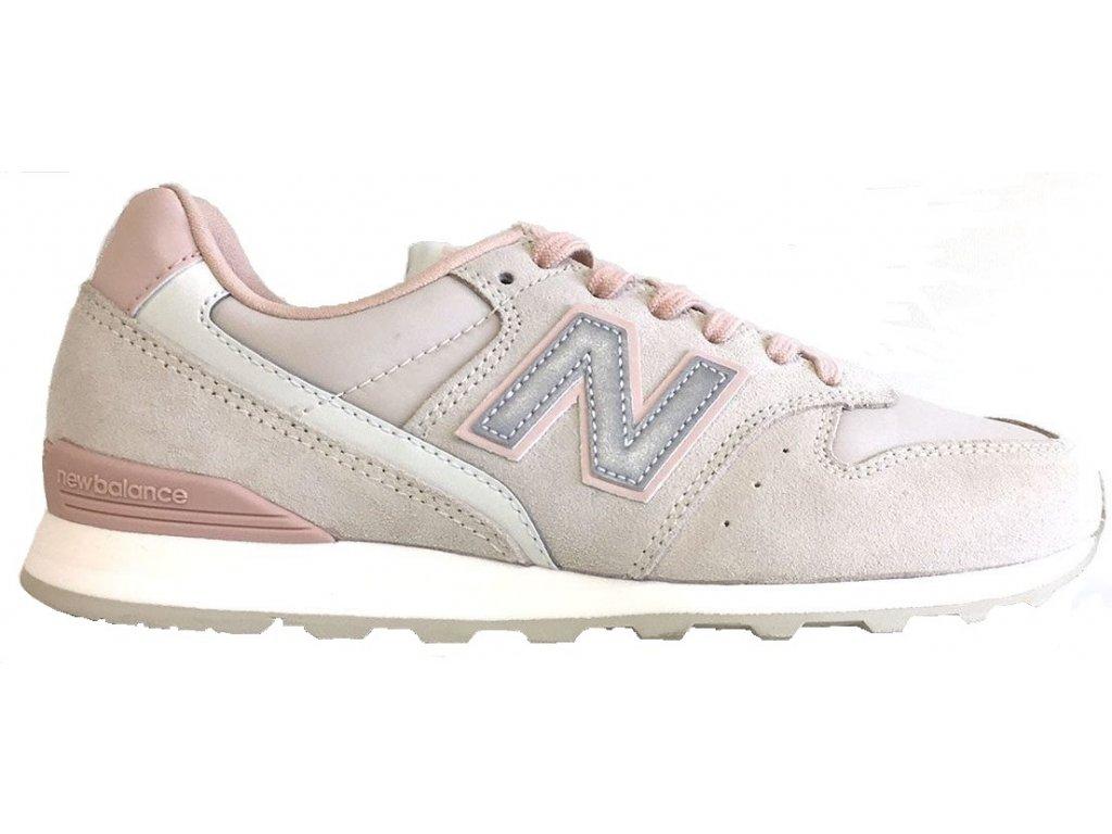 Dámská lifestylová obuv New Balance WL996 AA růžová
