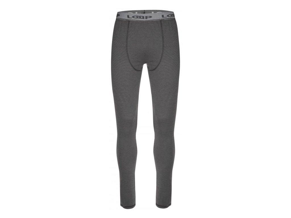 Pánské termo kalhoty Loap PETTE T44XV šedá