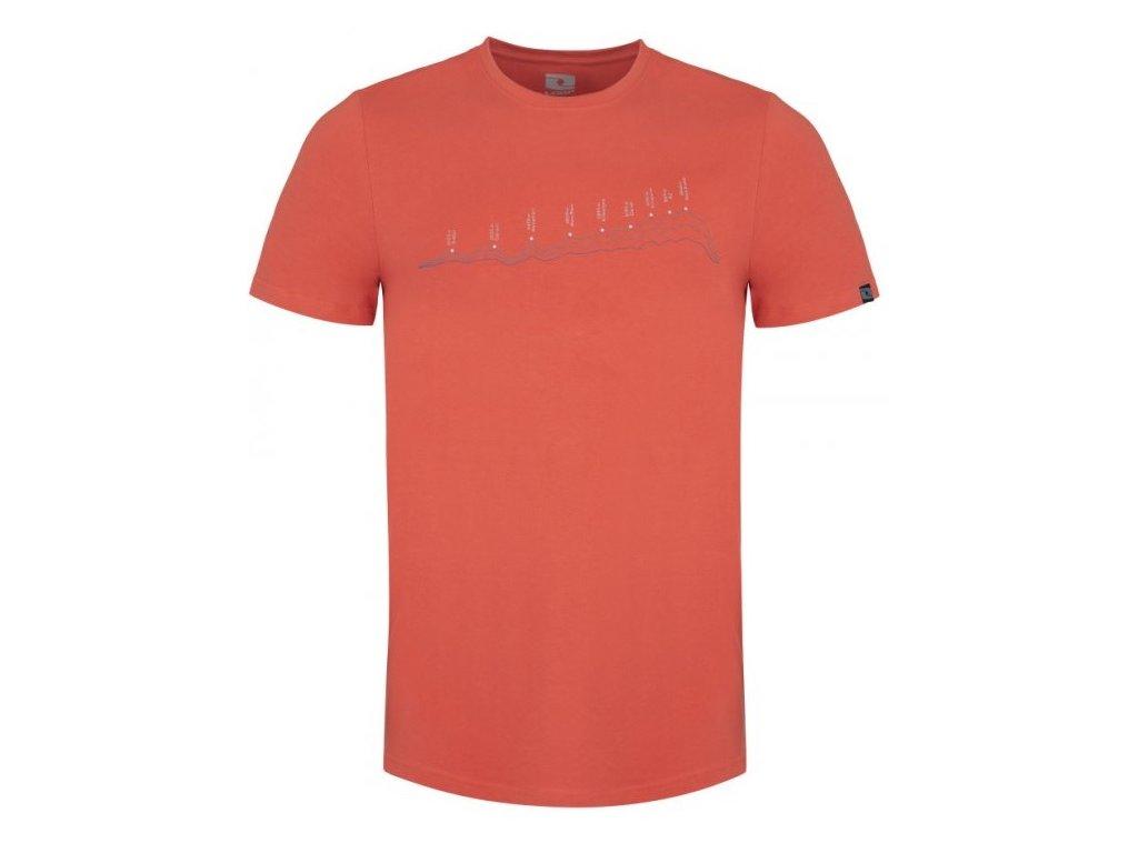 Pánské tričko Loap BENEDICT E63XE oranžová