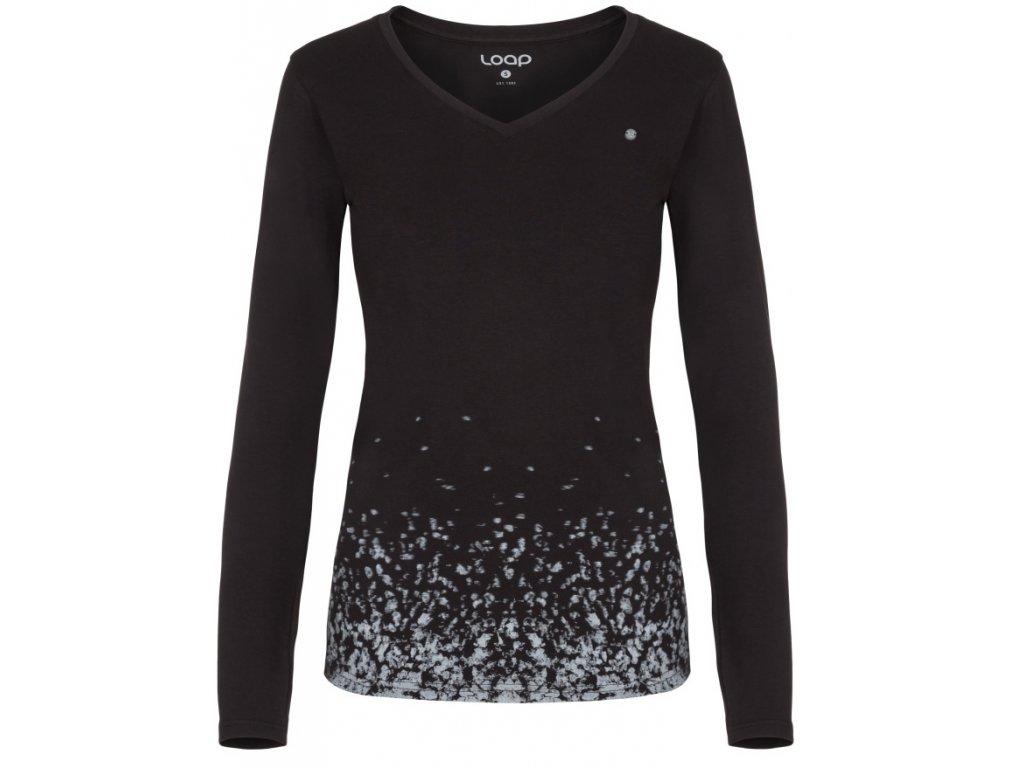 Dámské triko Loap ANABEL V24V černá
