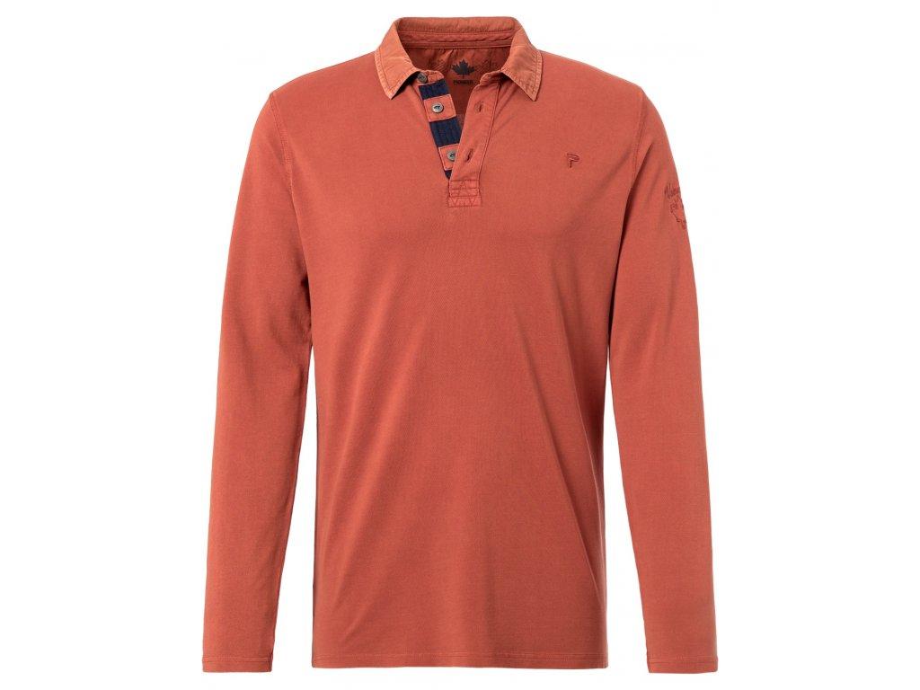 Pánské triko Pioneer 7146 915 oranžová