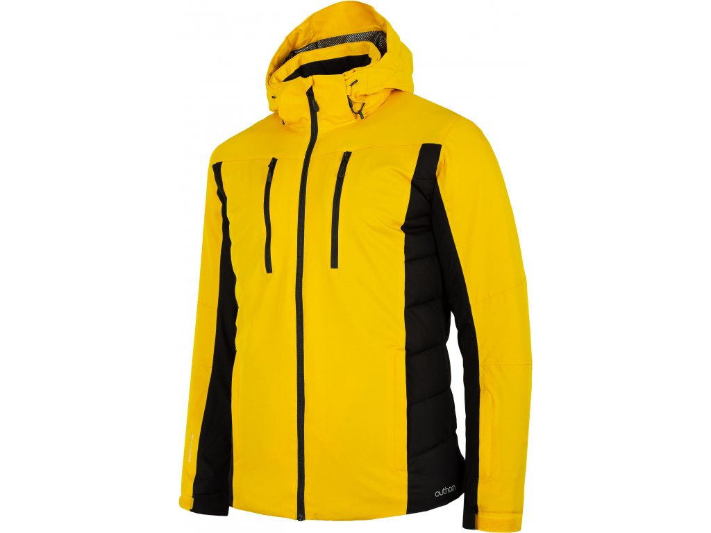 Pánská lyžařská bunda Outhorn KUMN605 Yellow žlutá