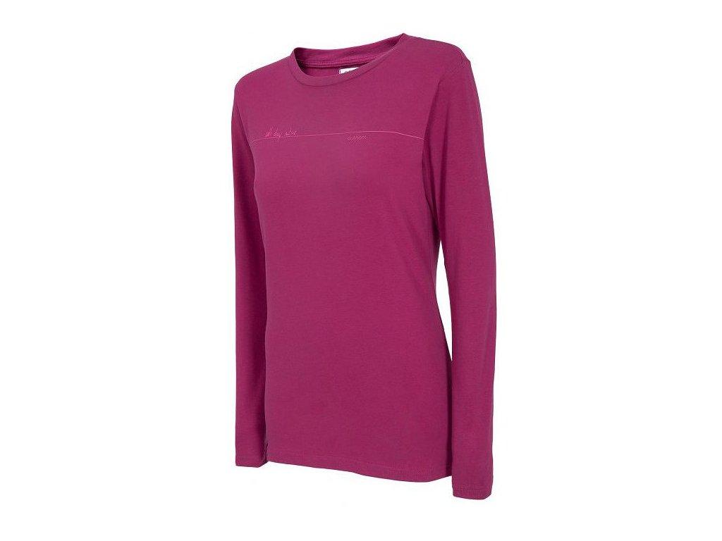Dámské triko Outhorn TSDL601 Burgundy fialová