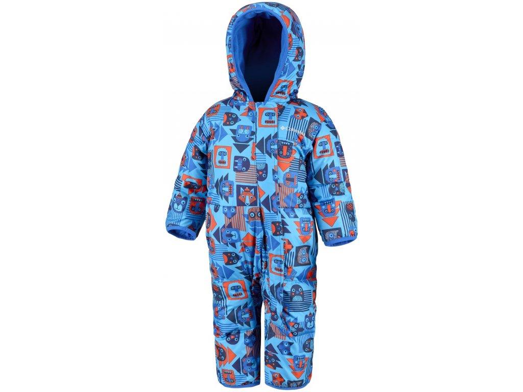 Dětská zimní kombinéza Columbia Snuggly Bunny Bunting 447 modrá