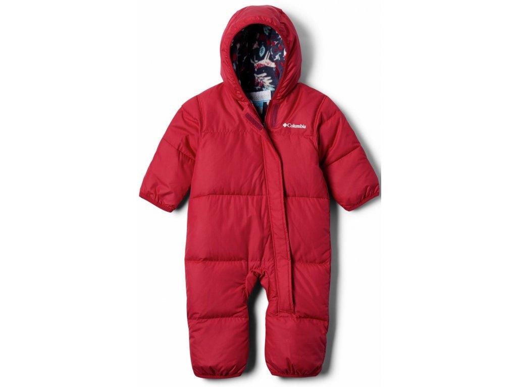 Dětská zimní kombinéza Columbia Snuggly Bunny Bunting 623 červená