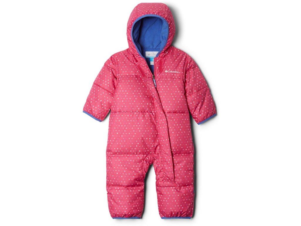 Dětská zimní kombinéza Columbia Snuggly Bunny Bunting 695 růžová