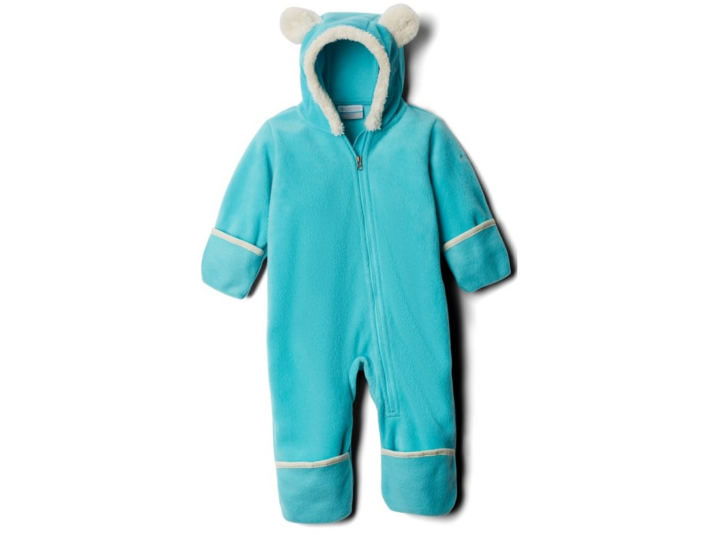 Dětská fleecový overal Columbia Tiny Bear™ II Bunting 336 modrá