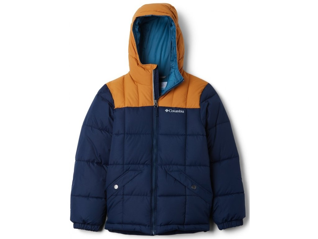 Juniorská bunda Columbia Gyroslope™ Jacket 467 modrá