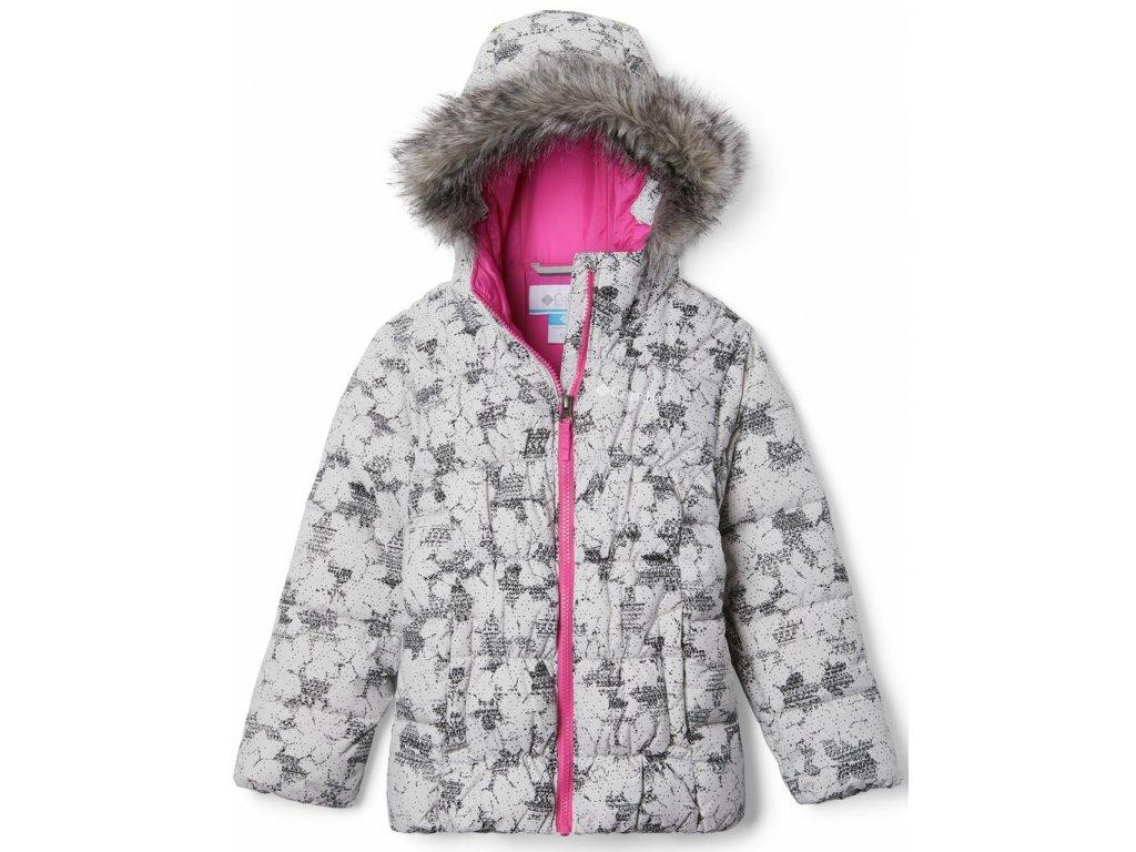 Juniorská zimní bunda Columbia Gyroslope ™ Jacket 082 šedá