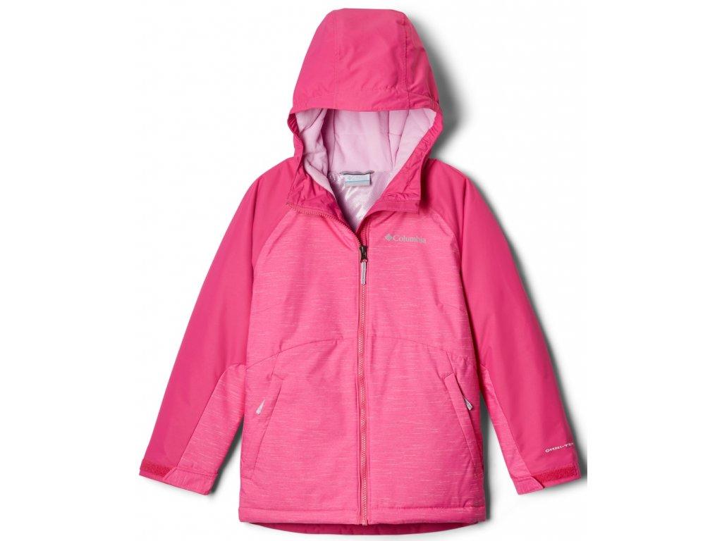 Dětská zimní bunda Columbia Alpine Action™II Jacket 695 růžová