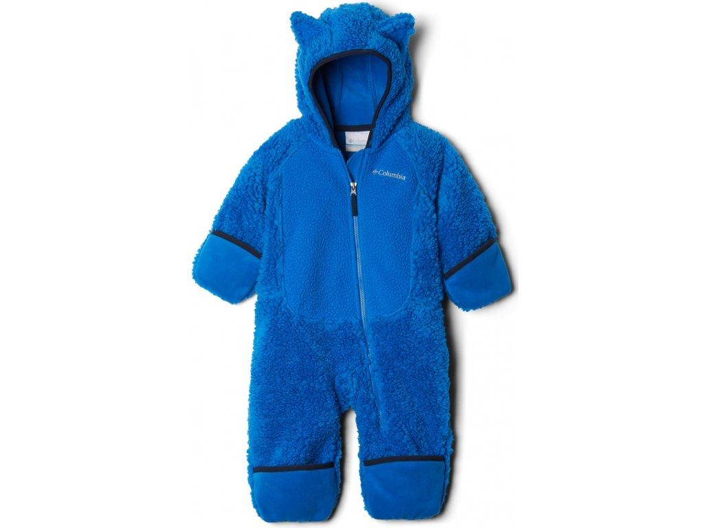 Dětský overal Columbia Foxy Baby™Sherpa Bunting 438 modrá