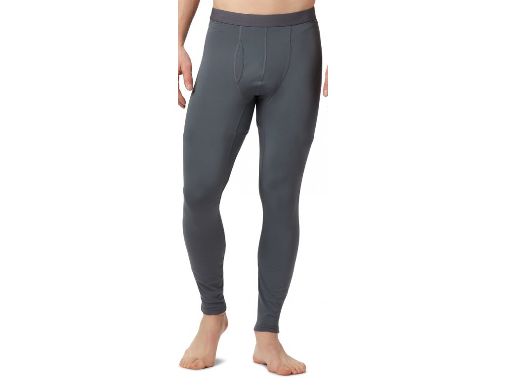 Pánské termo kalhoty Columbia Midweight Stretch Tight 054 šedá