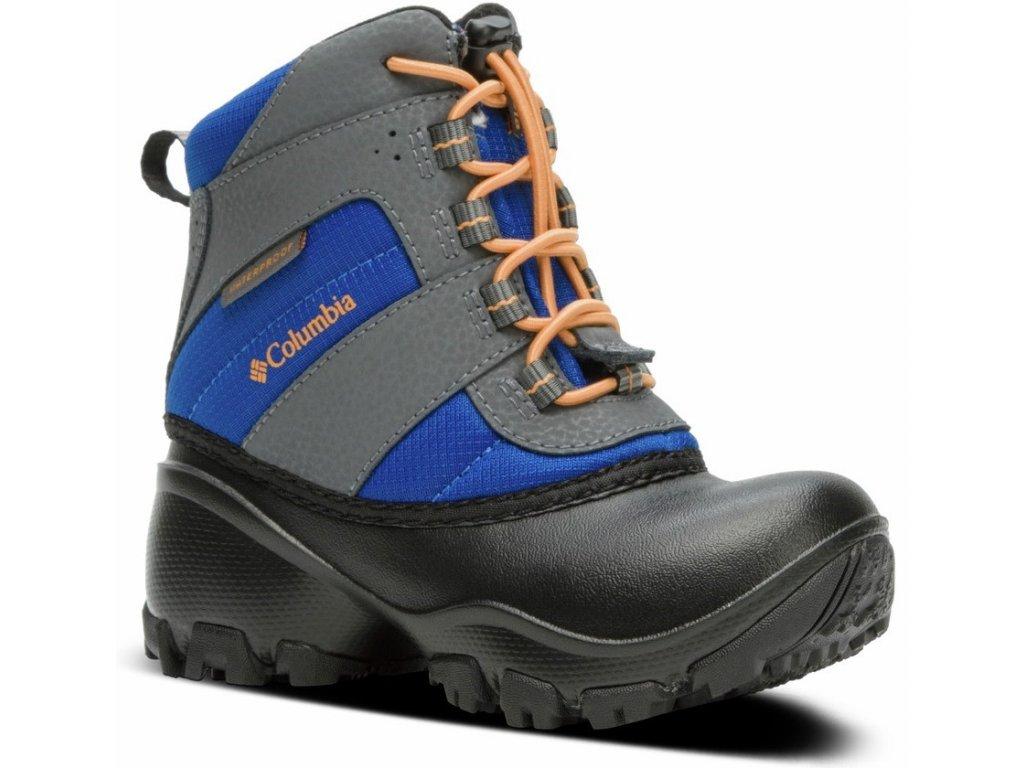 Dětské zimní boty Columbia YOUTH ROPE TOW ™ III WATERPROOF 437 modrá