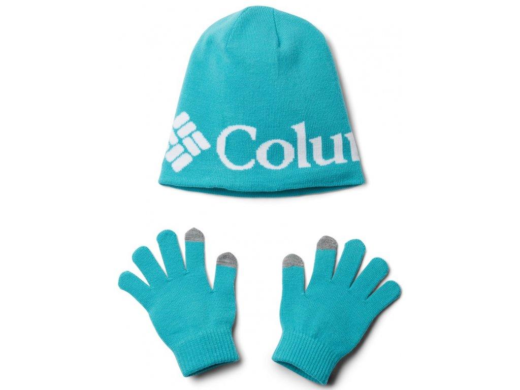 Dětský set Columbia Youth Hat and Glove Set™ II 336 modrá