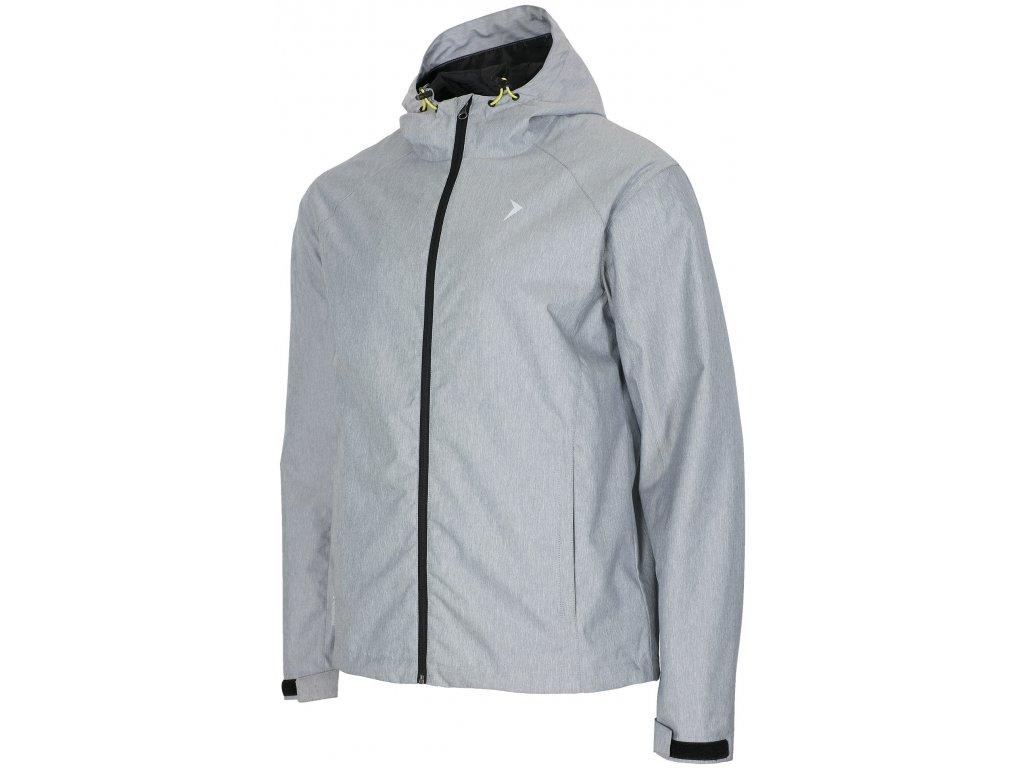 Pánská bunda Outhorn KUMT600 cold l grey mel. šedá
