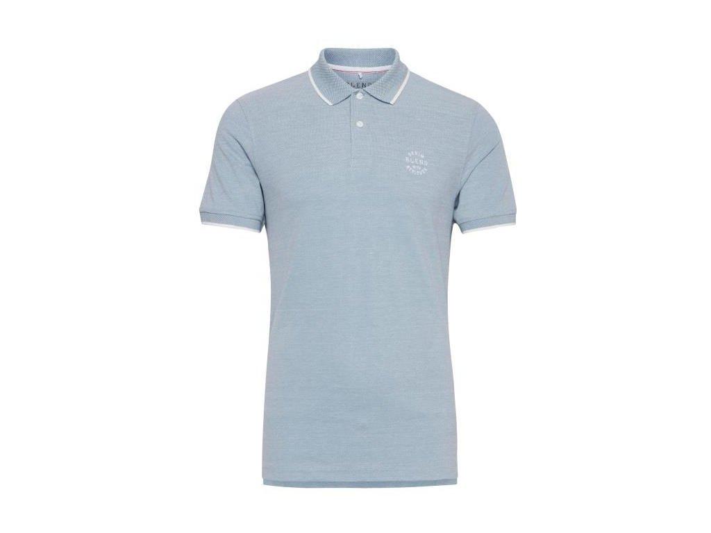 Pánské tričko Blend 20708180 74628 modrá