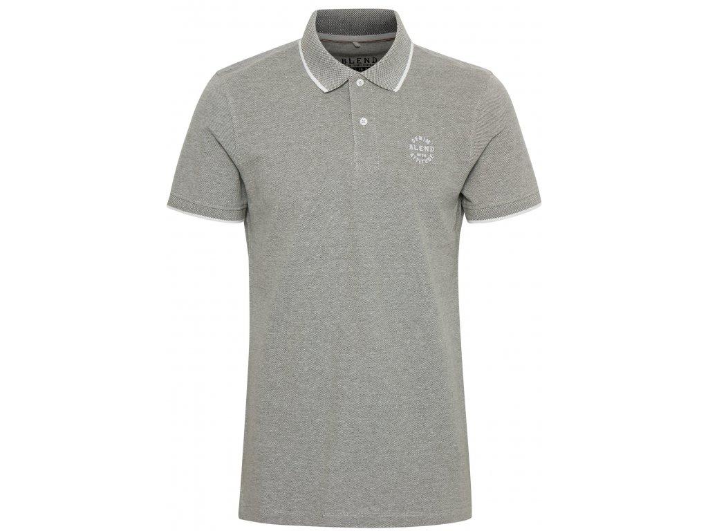 Pánské tričko Blend 20708180 77199 Khaki